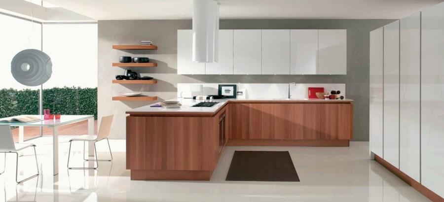 Beautiful Cucina Noce Canaletto Photos - Home Interior Ideas ...